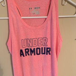 Under Armour pink tank